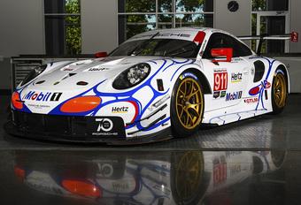 Porsche en Vanthoor opnieuw retro op Petit Le Mans #1