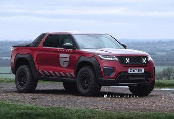 Range Rover Velar klust bij als pick-up #1