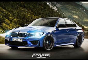Officiel : la BMW M3 aura 4 roues motrices #1