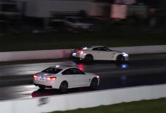 INSOLITE – Il crashe sa GT-R lors d'un drag-race #1