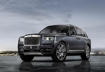 Rolls-Royce Cullinan : Bientôt en hybride rechargeable ? #1