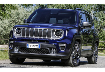 Jeep Renegade: twee plug-in hybride versies in 2020 #1