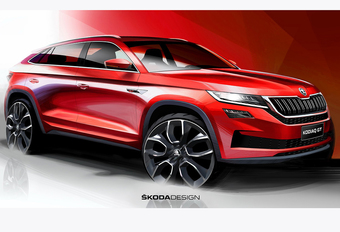 Skoda Kodiaq GT: SUV Coupé voor China #1