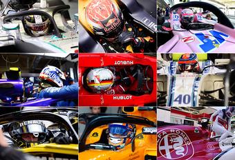 F1 2019 - welke rijders rijden voor welk team? - update #1