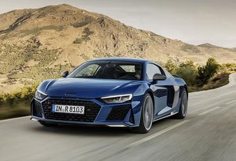 Audi R8: facelift met meer power #1