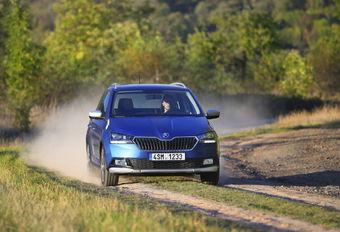 Škoda Fabia Combi Scoutline : en survêtement  #1