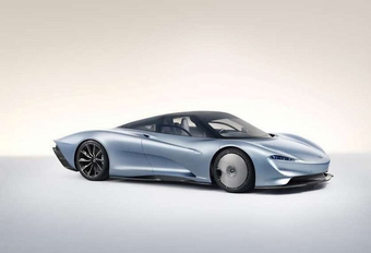 McLaren Speedtail: supersonische hyper-GT #1