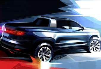 Volkswagen : un petit pick-up en vue #1