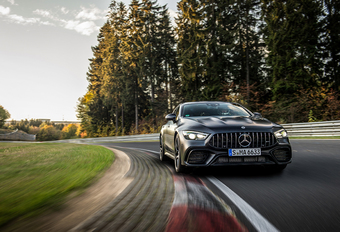 VIDEO – Een heel specifiek Ringrecord voor de Mercedes-AMG GT 63 S #1