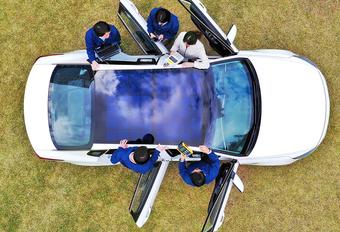 Hyundai en Kia ontwikkelen 3 types zonnepanelen voor de auto #1