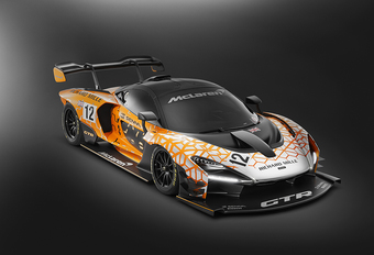 McLaren Senna GTR: 825 pk en 1000 kg downforce #1