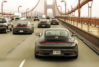 Nieuw beeldmateriaal van de nieuwe Porsche 911 (992) #1