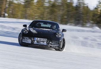 Porsche 911 Type 992 : Des essais intensifs #1