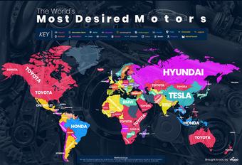 Les marques de voiture les plus populaires sur Google #1