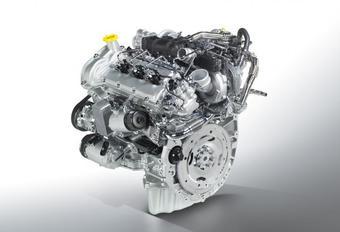 Een dieselmotor voor de Cadillac CTS #1