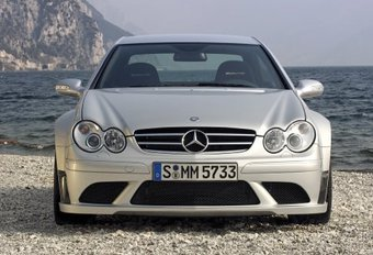 Mercedes CLK 63 AMG Black Series #1