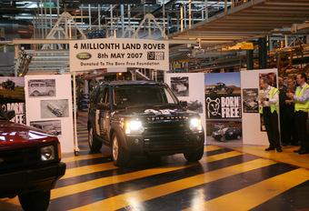 Land Rover fête les 4 millions #1