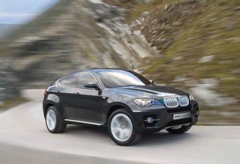 BMW Concept X6 #1