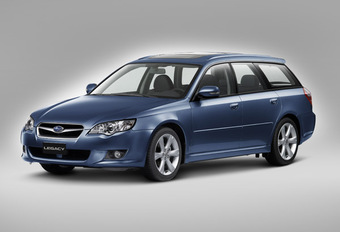 Subaru Legacy et Outback 2008 #1