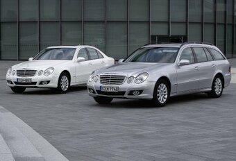 Mercedes Classe E Bluetec & CGI #1