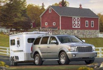 Chrysler Aspen en Dodge Durango hybride #1