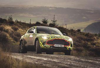 Aston Martin DBX: het testen begint #1
