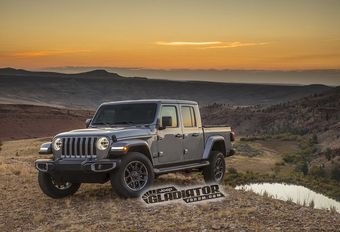 Jeep Wrangler pick-up heet Gladiator #1