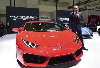 Lamborghini: nog steeds atmosferisch, maar hybride #1