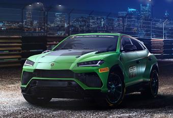 Lamborghini Urus ST-X Concept wil racen #1