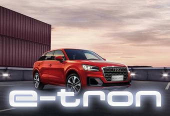 Audi Q2 gaat elektrisch als E-Tron #1