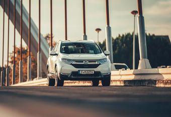 Honda CR-V: een ander soort hybride #1