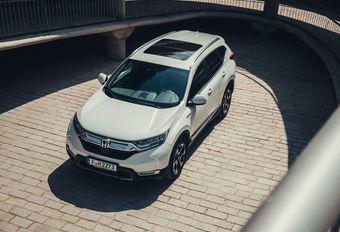 Honda lost de specs van de CR-V Hybrid #1