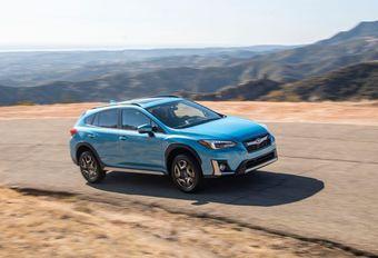 Subaru Crosstrek Hybrid : rechargeable #1