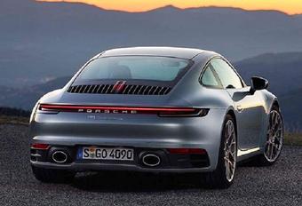 Porsche 911 type 992 : elle se dévoile en avance #1