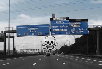 Wat zijn de meest dodelijke snelwegen van Vlaanderen? #1