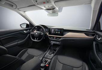 Škoda Scala: de cockpit in beeld #1