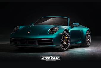 Natuurlijk komt er ook een Porsche 911 Cabrio #1