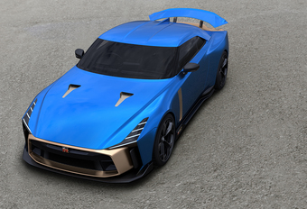 Dit is de peperdure productieversie van de Nissan GT-R50 by Italdesign! #1