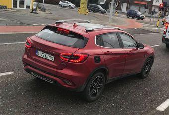 Un SUV Landwind surpris en Belgique #1