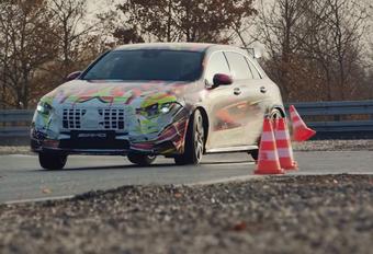 VIDEO – Nieuwe Mercedes-AMG A 45 drift buiten de lijntjes #1