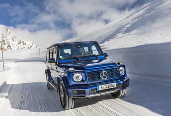 Mercedes G 350d: de G-Klasse met instapdiesel #1