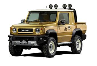 Suzuki Jimny als potige pick-up #1