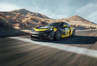 Porsche 718 Cayman GT4: atmosferische zespitter #1