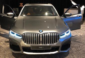 Gelekt: de enorme neus van de nieuwe BMW 7 - UPDATE: opnieuw gelekt #1