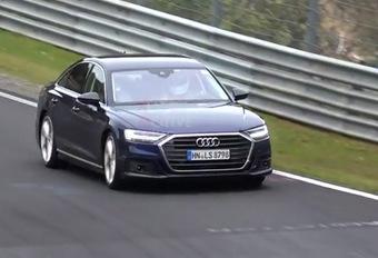Audi S8 : Derniers essais avant commercialisation #1