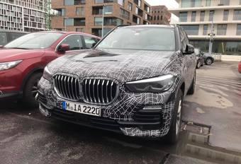 Gecamoufleerde BMW X5 in Brugge #1