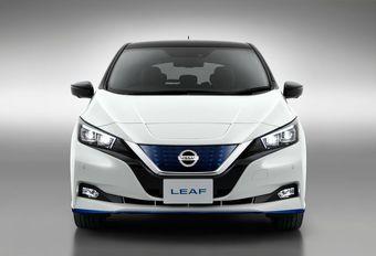 62 kWh en 217 pk voor de Nissan Leaf e+  #1