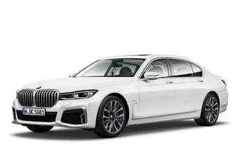 Le facelift de la BMW Série 7 en avance #1