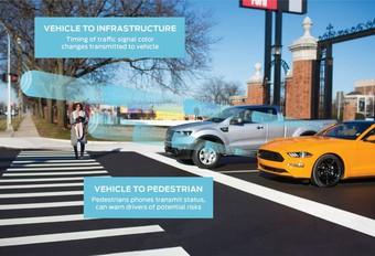 CES 2019 – Ford envisage le C-V2X de série #1