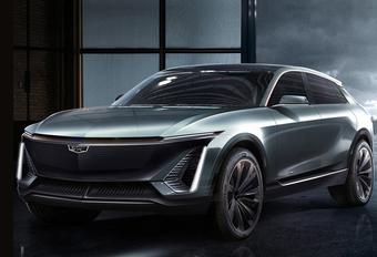 Cadillac EV-SUV mikt op de Tesla Model X #1